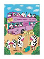 Personalised Cow Bus Baby Gift