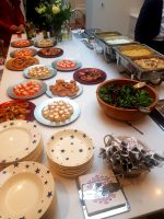 Cold & Hot Buffet selection with Canapes