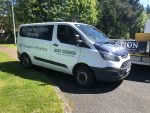 DS Construction Plumbing Dublin Van